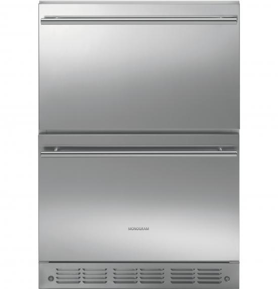 ZIDS240HSS Cajones Refrigerantes REFRIGERADORES GE Monogram Surtidor al Mayoreo, S.A. de C.V.