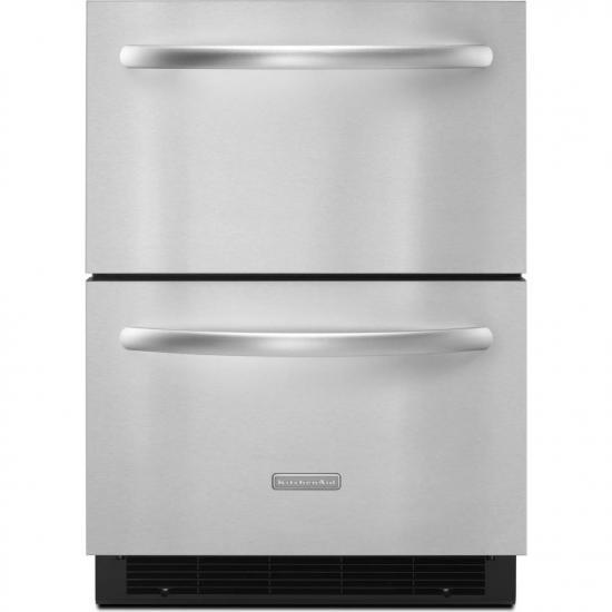 KUDR204ESB Cajones Refrigerantes REFRIGERADORES KitchenAid Surtidor al Mayoreo, S.A. de C.V.