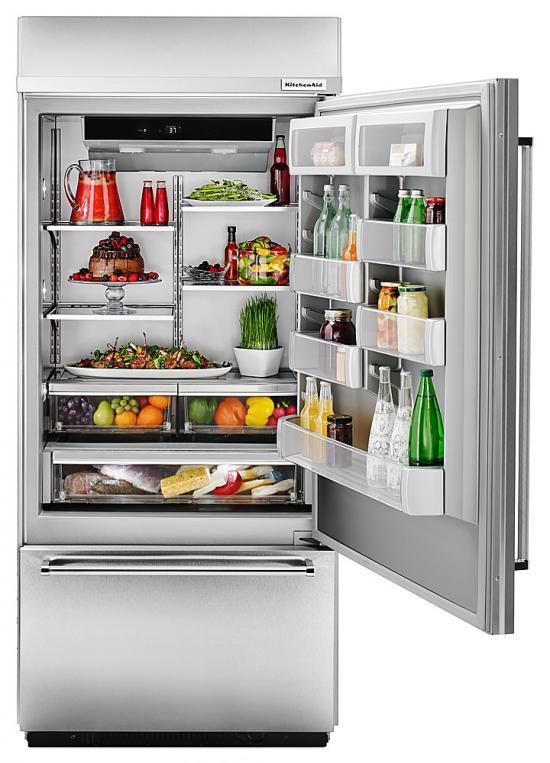 KBBR306ESS Congelador Abajo REFRIGERADORES KitchenAid COCIMUNDO